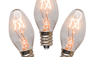 Different types of light bulbs and their color settings
